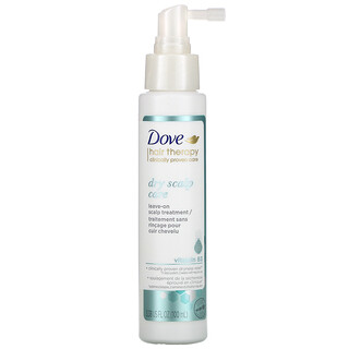 Dove, Hair Therapy, Dry Scalp Care Leave-on Scalp Treatment with Vitamin B3, 3.38 fl oz (100 ml)