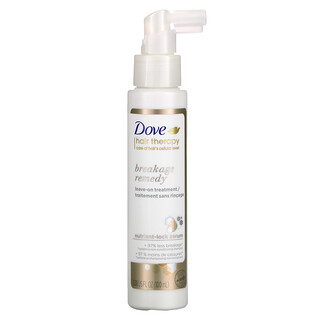 Dove, Hair Therapy, Breakage Remedy Leave-on Treatment, 3.38 fl oz (100 ml)