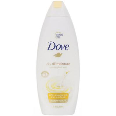 Купить Dove Питательный гель для душа Dry Oil Moisture, 650мл
