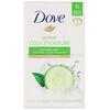 Dove, Go Fresh, Barra de belleza para hidratación fresca, Pepino y té verde, 6barras, 113g (4oz) cada una