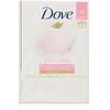 Dove, Косметическое мыло «Розовое», 4шт. по 113г