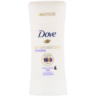Dove, Advanced Care, Invisible, Anti-Perspirant Deodorant, Sheer Fresh, 2.6 oz (74 g)