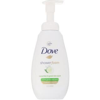 Dove, Shower Foam, Cucumber & Green Tea, 13.5 fl oz (400 ml)