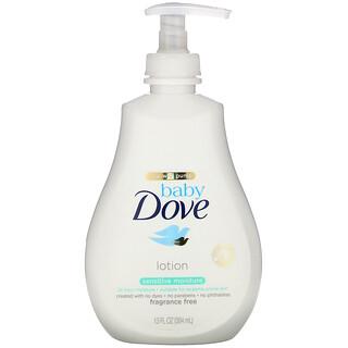 Dove, Baby, Sensitive Moisture Lotion, Fragrance Free, 13 fl oz (384 ml)