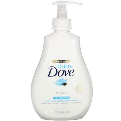 Купить Dove Baby, насыщенный увлажняющий лосьон, 384мл