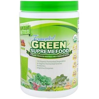 Divine Health, ComidaSuprema Fermentado orgánico, 7,40 oz (210 g)