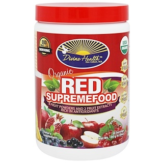 Divine Health, Organic Red SupremeFood, 6.30 oz (180 g)