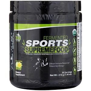 Дивайн Хэлс, Fermented Sports SupremeFood, Lemon-Lime, 7.40 oz (210 g) отзывы