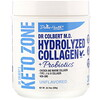 Divine Health, Dr. Colbert's Keto Zone, Hydrolyzed Collagen Plus Probiotics, Unflavored, 20.74 oz (588 g)