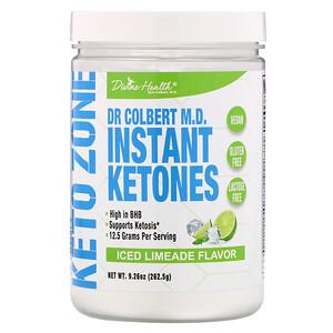 Дивайн Хэлс, Dr. Colbert's Keto Zone, Instant Ketones, Iced Limeade , 9.26 oz (262.5 g) отзывы