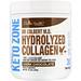 Dr. Colbert's Keto Zone, Hydrolyzed Collagen, Dark Chocolate, 22.22 oz (630 g) - изображение