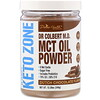Divine Health, Dr Colbert's Keto Zone, MCT Oil Powder, Dutch Chocolate , 12.28 oz (348 g)