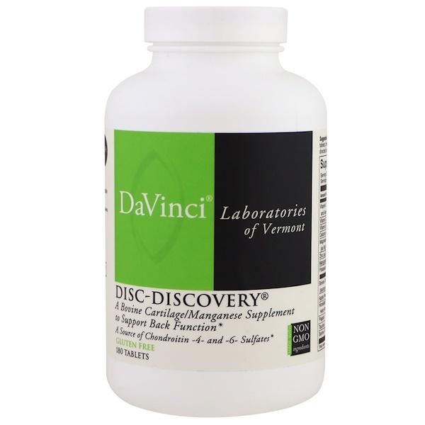 DaVinci Laboratories of Vermont, Disc-Discovery,180片