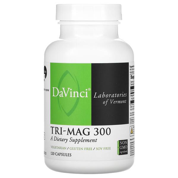 Tri-Mag 300, 120 Capsules