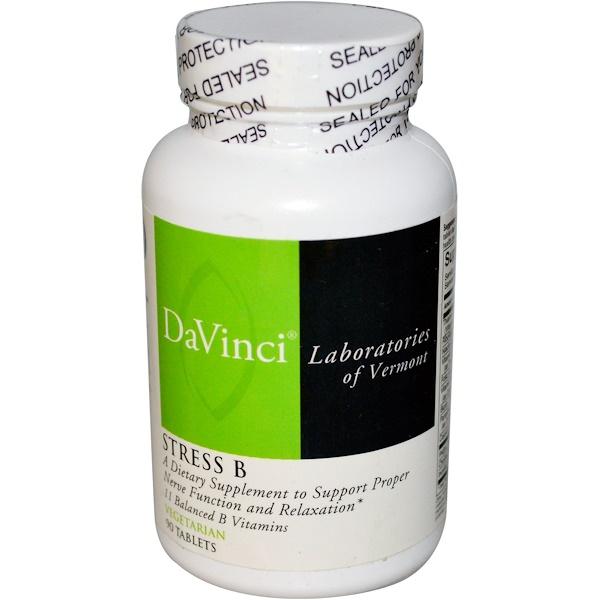 DaVinci Laboratories of Vermont, Stress B, 90 таблеток 90 таблеток (Discontinued Item)