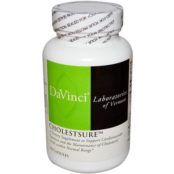 DaVinci Laboratories of Vermont, CholestSure, 90 Capsules (Discontinued Item)