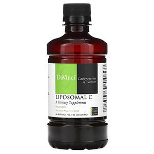 ДаВинчи Лэбораторис оф Вермонт, Liposomal C, 10.15 oz (300 ml) отзывы покупателей