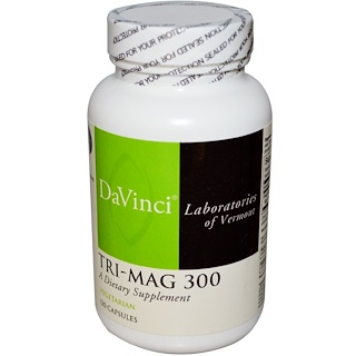 DaVinci Laboratories of Vermont, Tri-Mag 300, 120 капсул