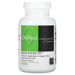 DaVinci Laboratories of Vermont, Hair Effects, 90 Capsules