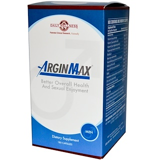 Daily Wellness Company, ArginMax, Men, 180 Capsules