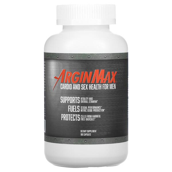 Daily Wellness Company, ArginMax, Men, 180 Capsules