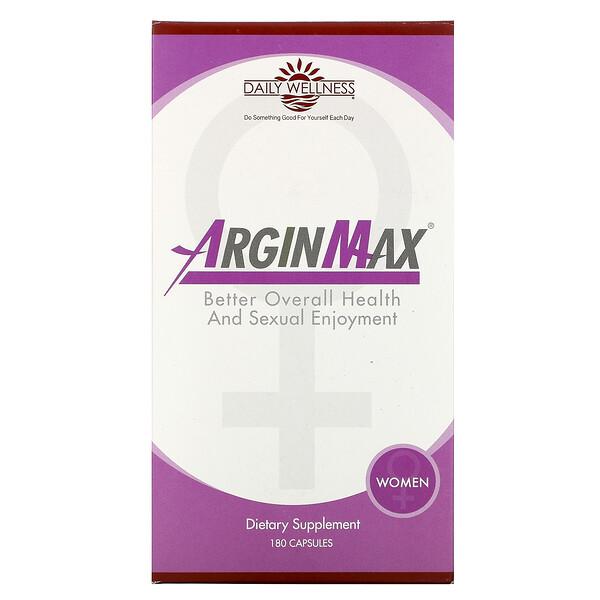女性 ArginMax,180 粒膠囊