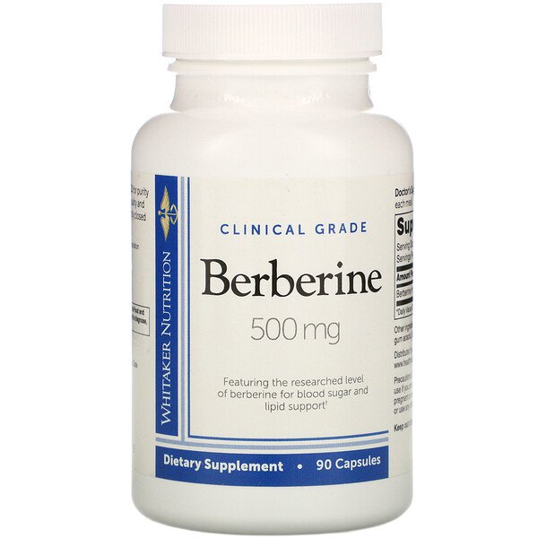Clinical Grade, Berberine, 500 mg, 90 Capsules