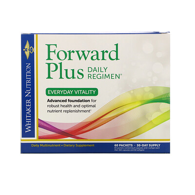 Dr. Whitaker Forward Plus Daily Regimen, Everyday Vitality, 60 packets