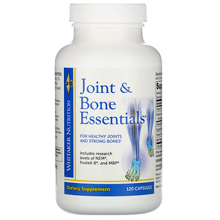 Whitaker Nutrition, Joint & Bone Essentials, 120 Capsules