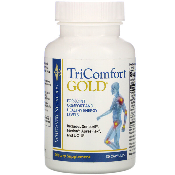 Dr. Whitaker, TriComfort Gold® 膠囊,30 粒裝
