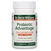 Dr. Williams, Probiotic Advantage, пробиотики для здоровья кишечника, повышенная сила действия, 30таблеток