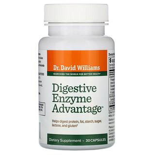 Dr. Williams, Digestive Enzyme Advantage, 30 Capsules
