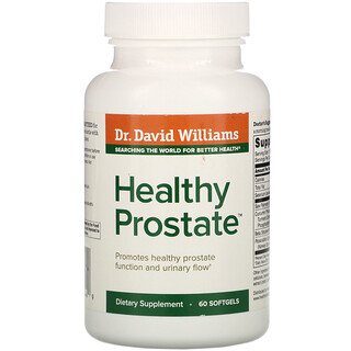Dr. Williams, Healthy Prostate, 60 Softgels