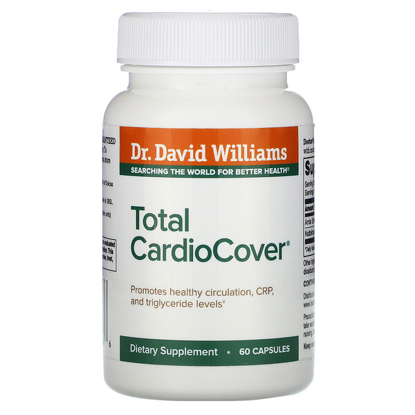 Dr. Williams, Total CardioCover® 心脏健康支持胶囊,60 粒装