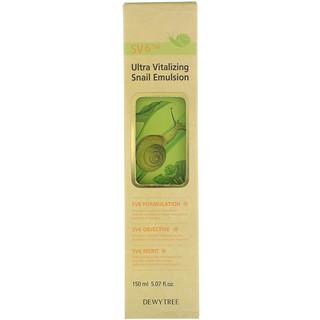 Dewytree, Ultra Vitalizing Snail Emulsion, 5.07 fl oz (150 ml)