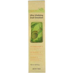 Дюи Три, Ultra Vitalizing Snail Emulsion, 5.07 fl oz (150 ml) отзывы