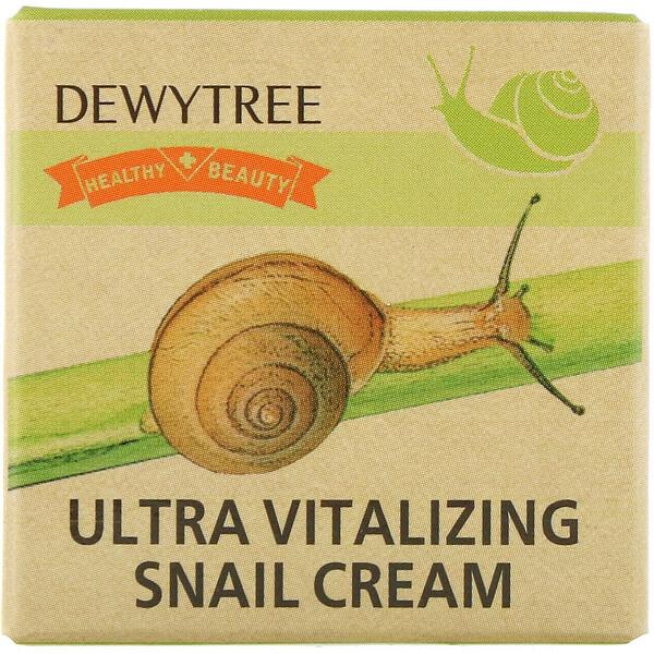 Dewytree, Ultra Vitalizing Snail Cream, 10 ml