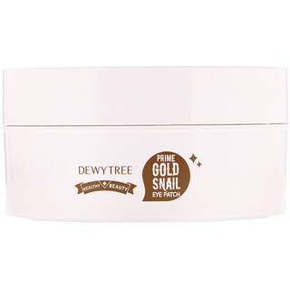 Dewytree, Prime Gold Snail Eye Patch, 60 Patches, 90 g