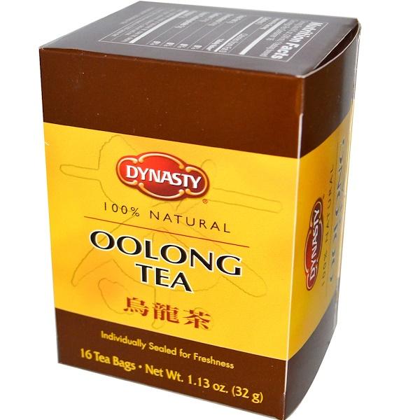 Dynasty, Чай улунг, 16 чайных пакетиков, 1.13 унций (32 г) (Discontinued Item)