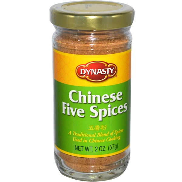 Dynasty, Chinese Five Spices, 2 oz (57 g) (Discontinued Item)