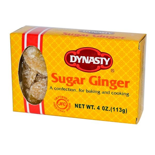 Dynasty, Sugar Ginger, 4 oz (113 g) (Discontinued Item)