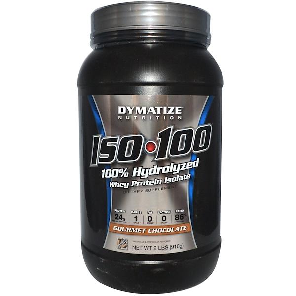 מעולה Dymatize Nutrition, ISO•100, 100% Hydrolyzed Whey Protein Isolate AJ-19