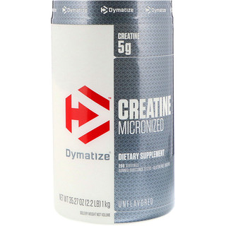 Dymatize Nutrition, Creatine Micronized, Unflavored, 2.2 lb (1 kg)