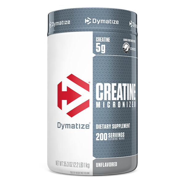 Creatine Micronized, Unflavored, 35.27 oz (1 kg)