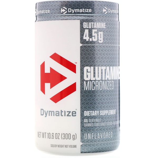 Dymatize Nutrition, Glutamine Micronized, Unflavored, 10.6 oz (300 g) (Discontinued Item)