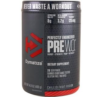 Dymatize Nutrition, 프리 W.O., 칠드 프루트 퓨전, 14.11 oz (400 g)