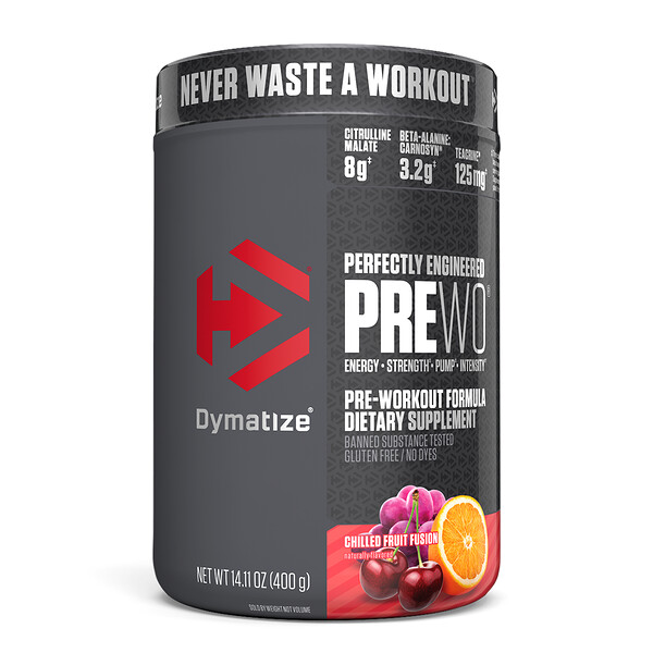 Pre W.O., Chilled Fruit Fusion, 14.11 oz (400 g)