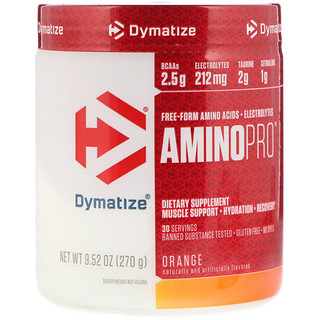 Dymatize Nutrition, AminoPro, Orange, 9.52 oz (270 g)