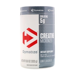 Dymatize Nutrition, クレアチン・マイクロナイズド、無香料、10.6オンス(300g)