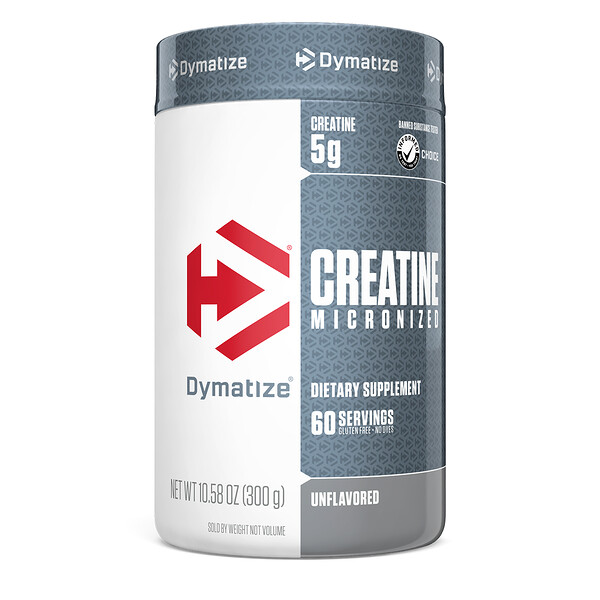 Creatine Micronized, Unflavored, 10.6 oz (300 g)